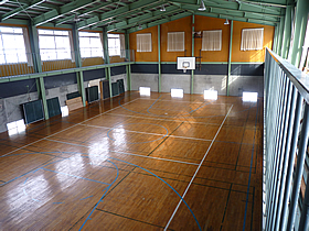 専用総合体育館